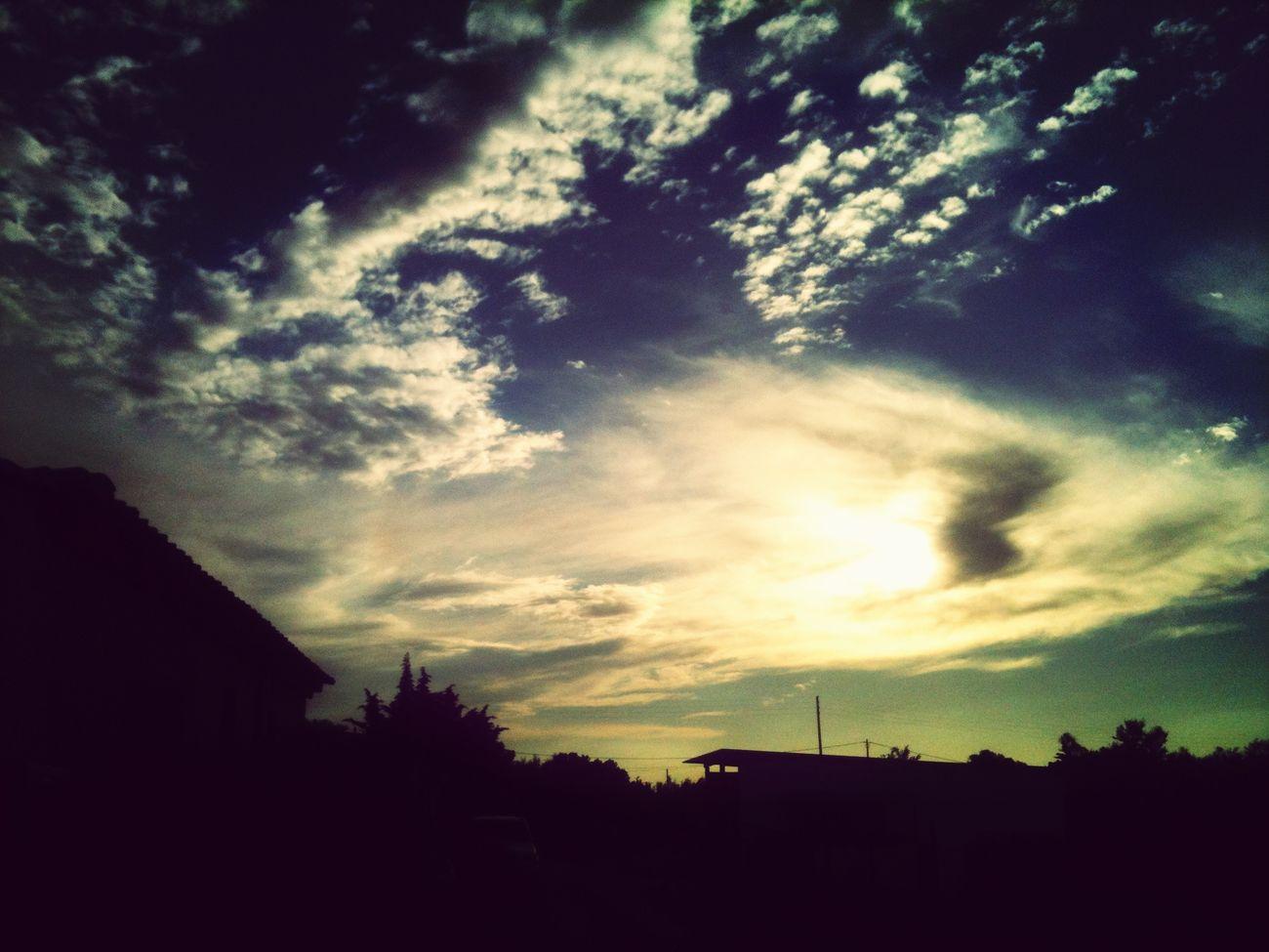 7:58PM Coucher De Soleil *2💛☀