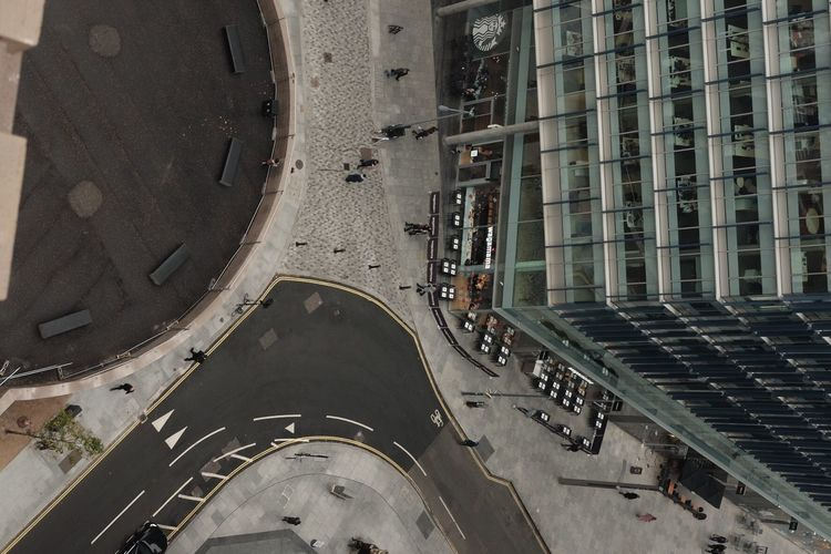London High Angle View Architecture City Life