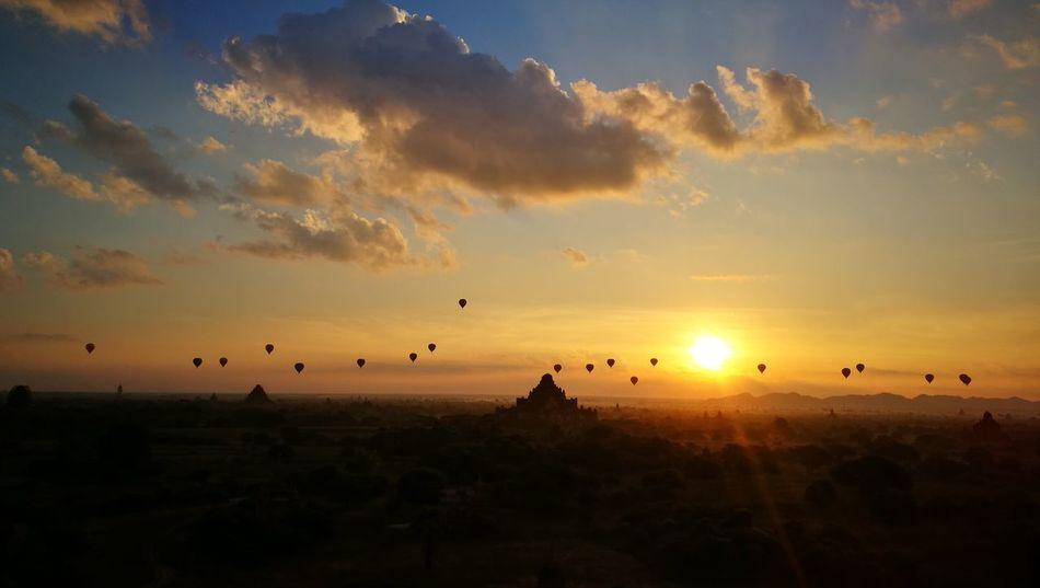Bagan Trip Bagan_the_ancient_city_of_burma Bagan In Myanmar Sunrise_Collection Travel Destinations Freedom Life Huawei P9 Plus Sunrisephotography