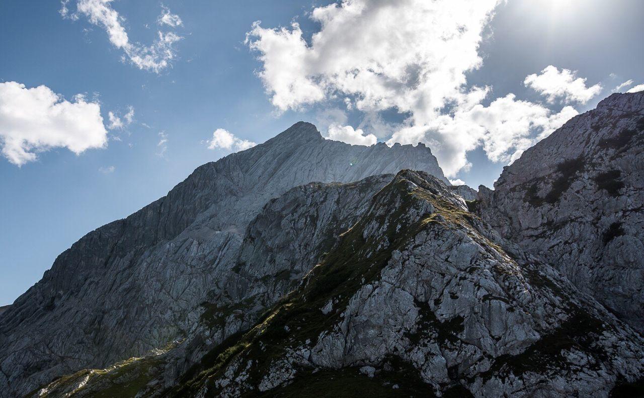 Mountain Sky Mountain Range Mountain Peak Outdoors Beauty In Nature Cloud - Sky Horizontal Snow Landscape No People Nature Day