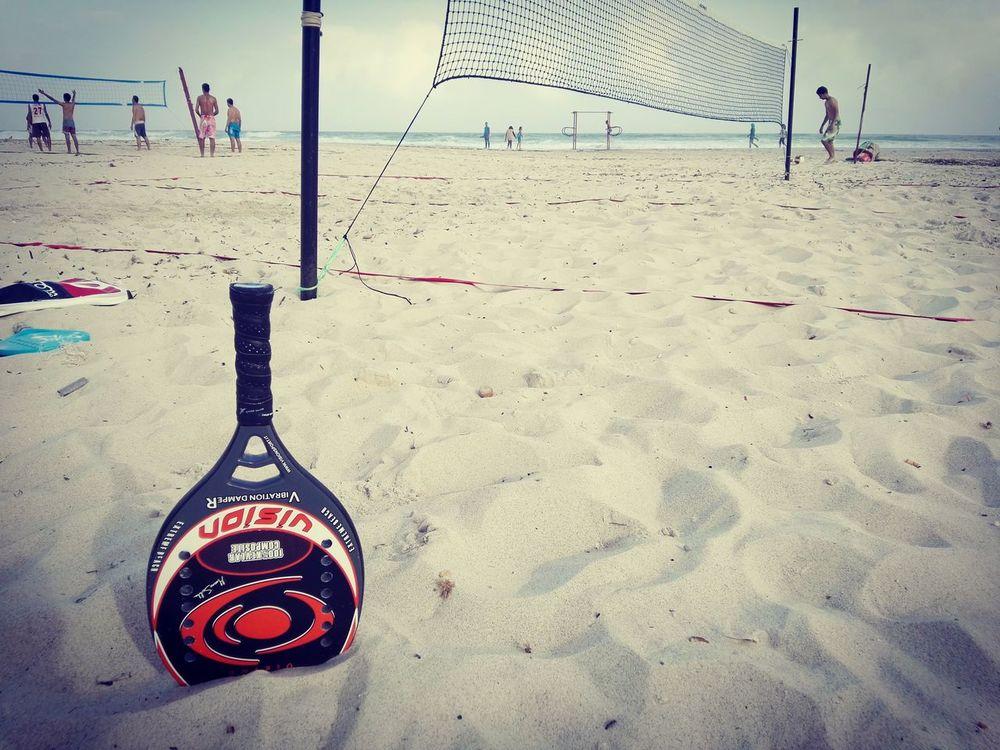 Beach Sand Outdoors No People Day Beach_tennis Beachtennis Tennis 🎾