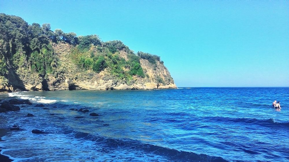 Color Of Life Italia Naples Blue Blue Sky Sea And Sky Sea And Rocks Italy🇮🇹 Green Nature Nature Water Reflections Relax
