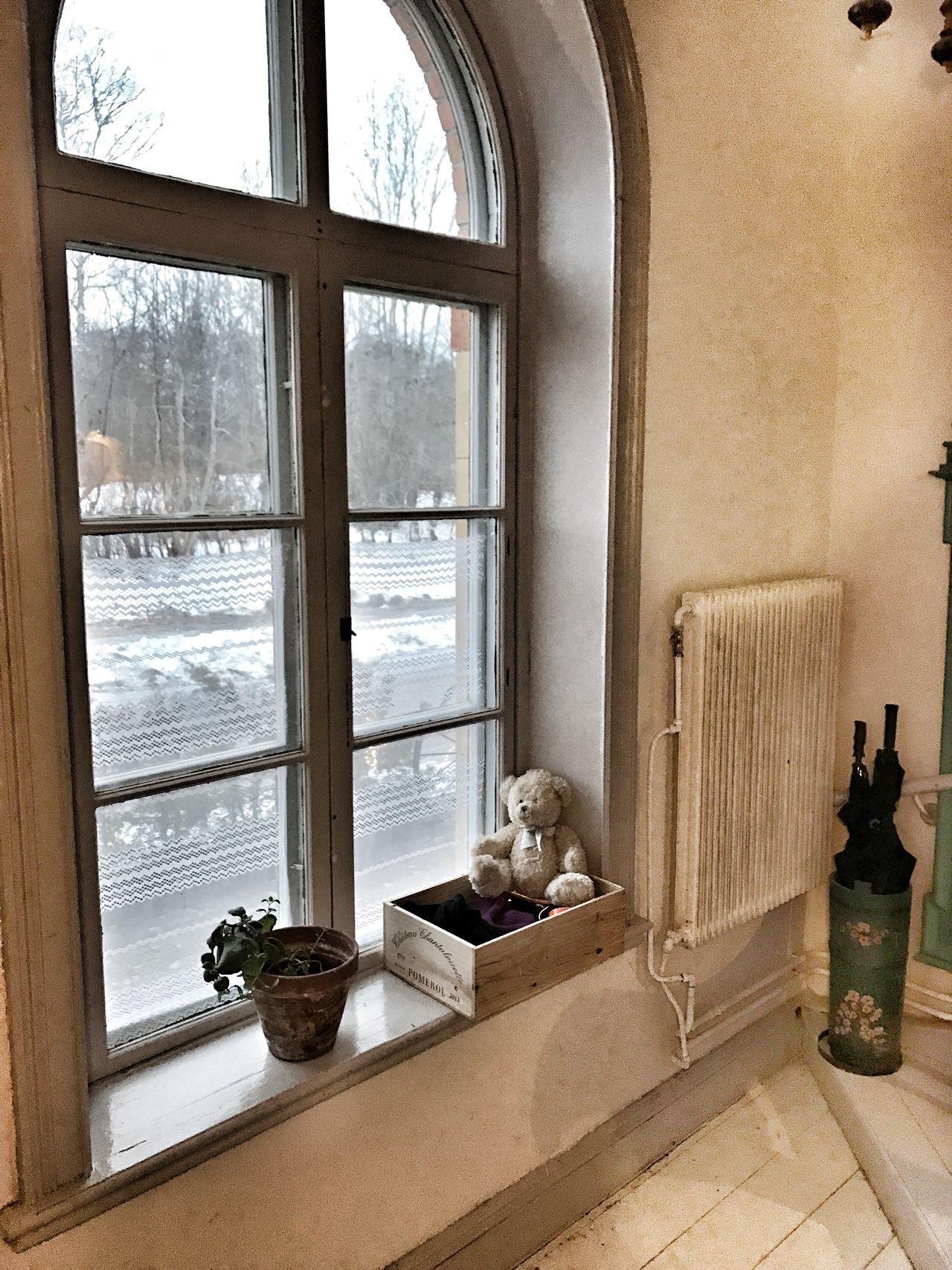Window Home Interior Architecture Wood - Material Teddy Bear Train Station Hallstahammar Station Plant