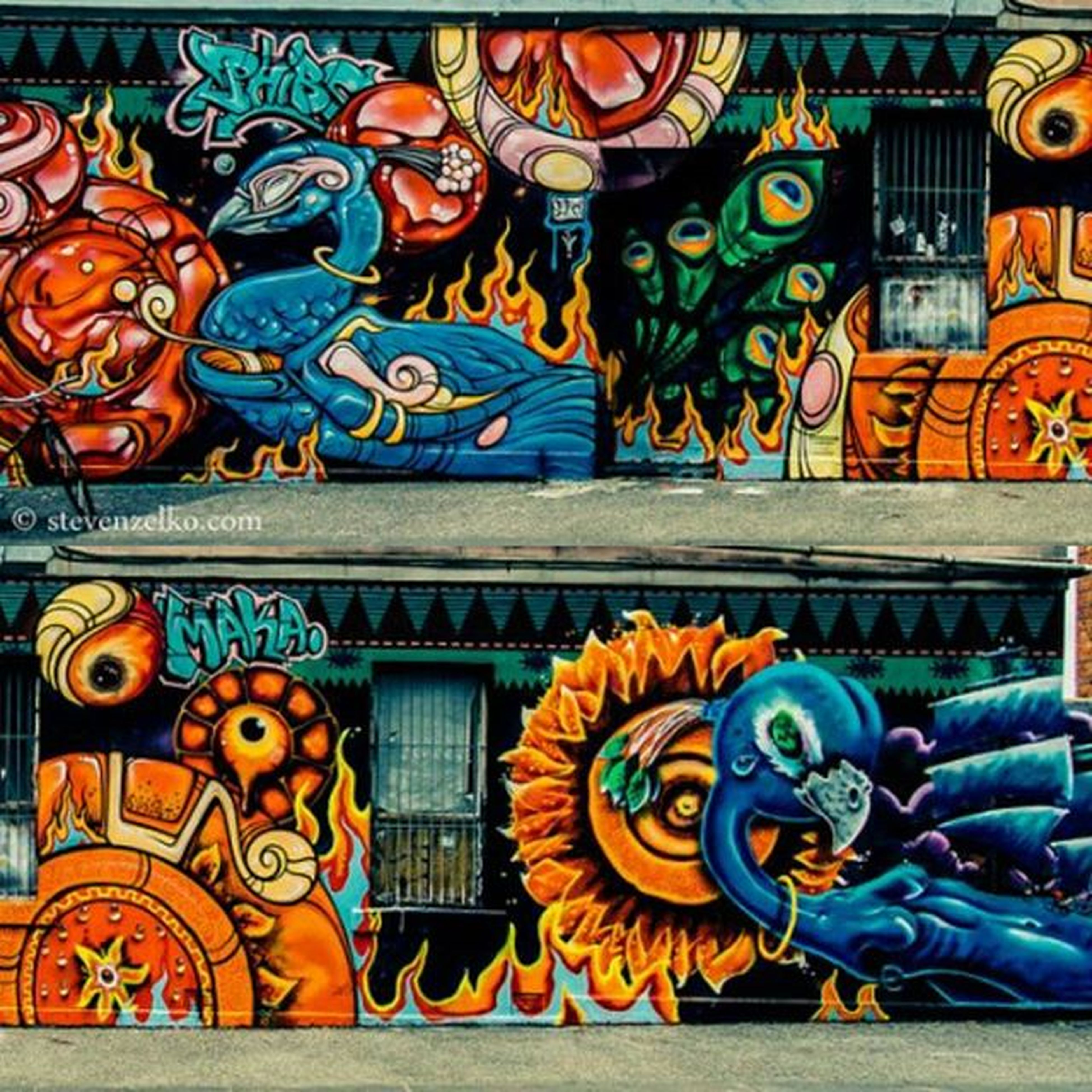 art, art and craft, creativity, multi colored, graffiti, human representation, animal representation, architecture, built structure, design, sculpture, mural, wall - building feature, statue, carving - craft product, craft, ornate, pattern, street art
