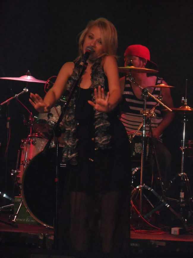 Rad reggae band from Arizona:Kush County.Here is Nicole.Check them out. Arizona Reggae Nicole Kush County