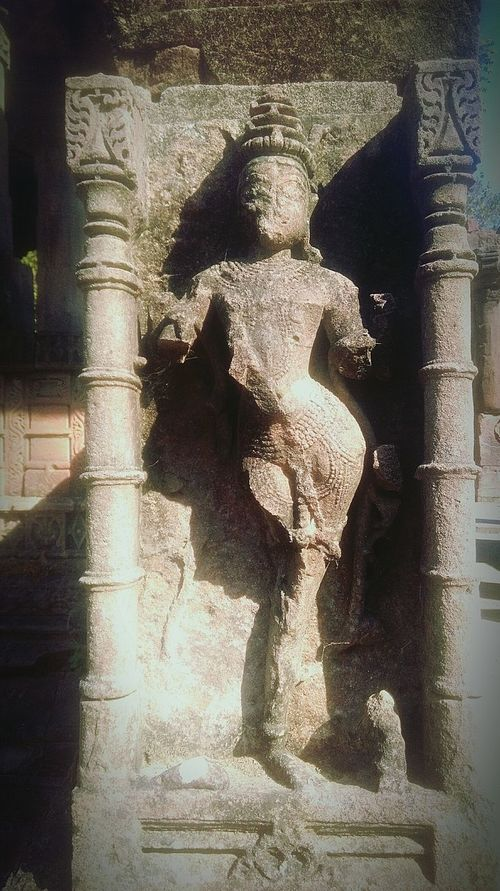 Fading art. Temple Temple Ruins Sculpture Faded Glory Check This Out Female Figure Dancing Figure Polo Forest Heritage Heritagebeauty Cultural Heritage