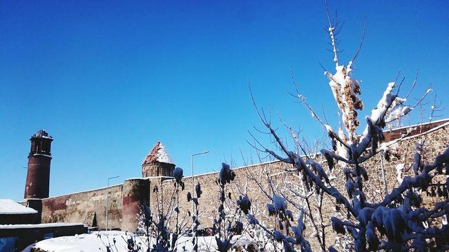 Kar Kış ErzurumKalesi Doğalçerçeve Sony Xperia Z3 Snow Winter