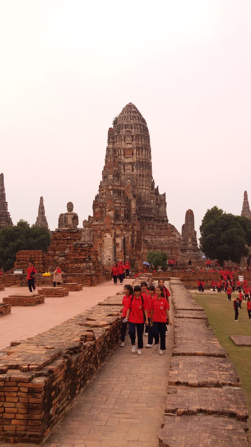 Learning Historically, Students, Ayutthaya, World Cultural Heritage, Thailand. Getting In Spired. .