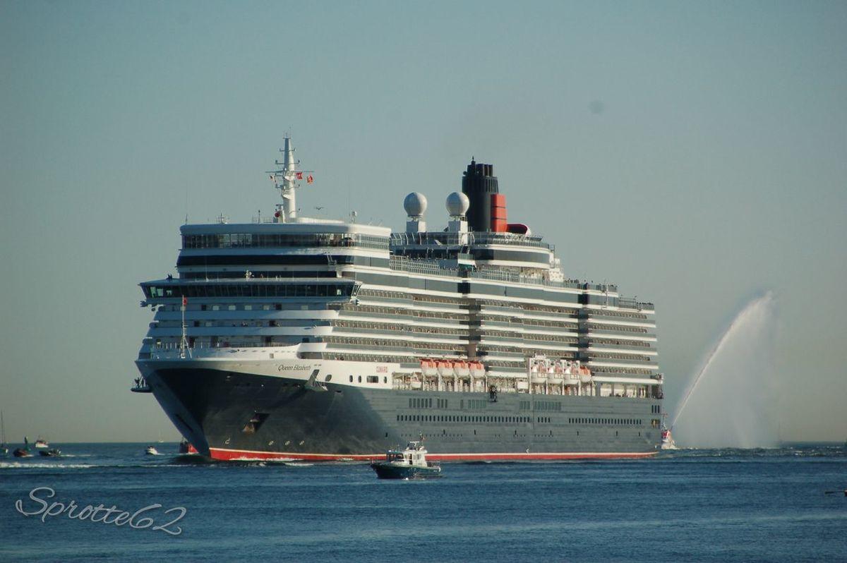 Schiffe Cungard Cungard MS Queen Elizabeth Cunard