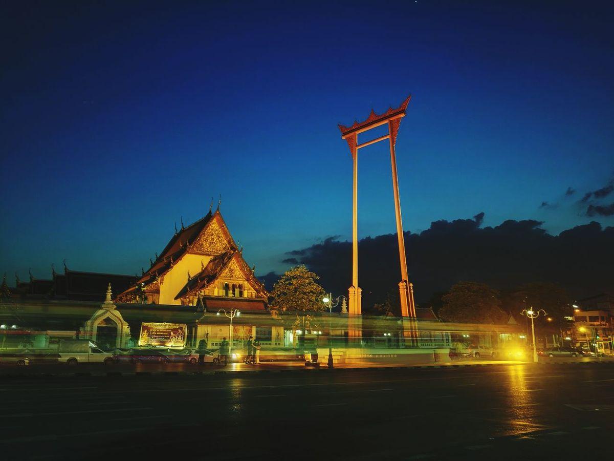 City Travel Destinations Aftersunset Bangkok Night