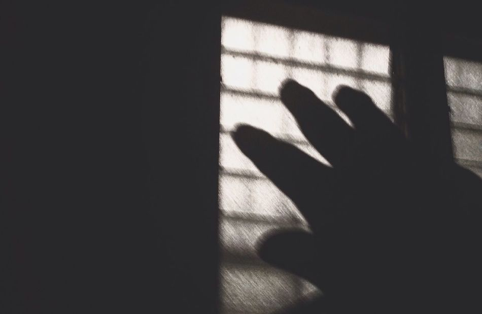 Break The Mold Shadow Human Hand Indoors  Silhouette Focus On Shadow Window Dark Random Goodbye Alone Feelings
