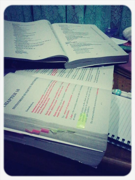 reviewing for finals Accounting Financialaccounting Finalsweek