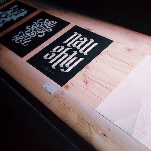 Typography Graphic Design Days Exploring