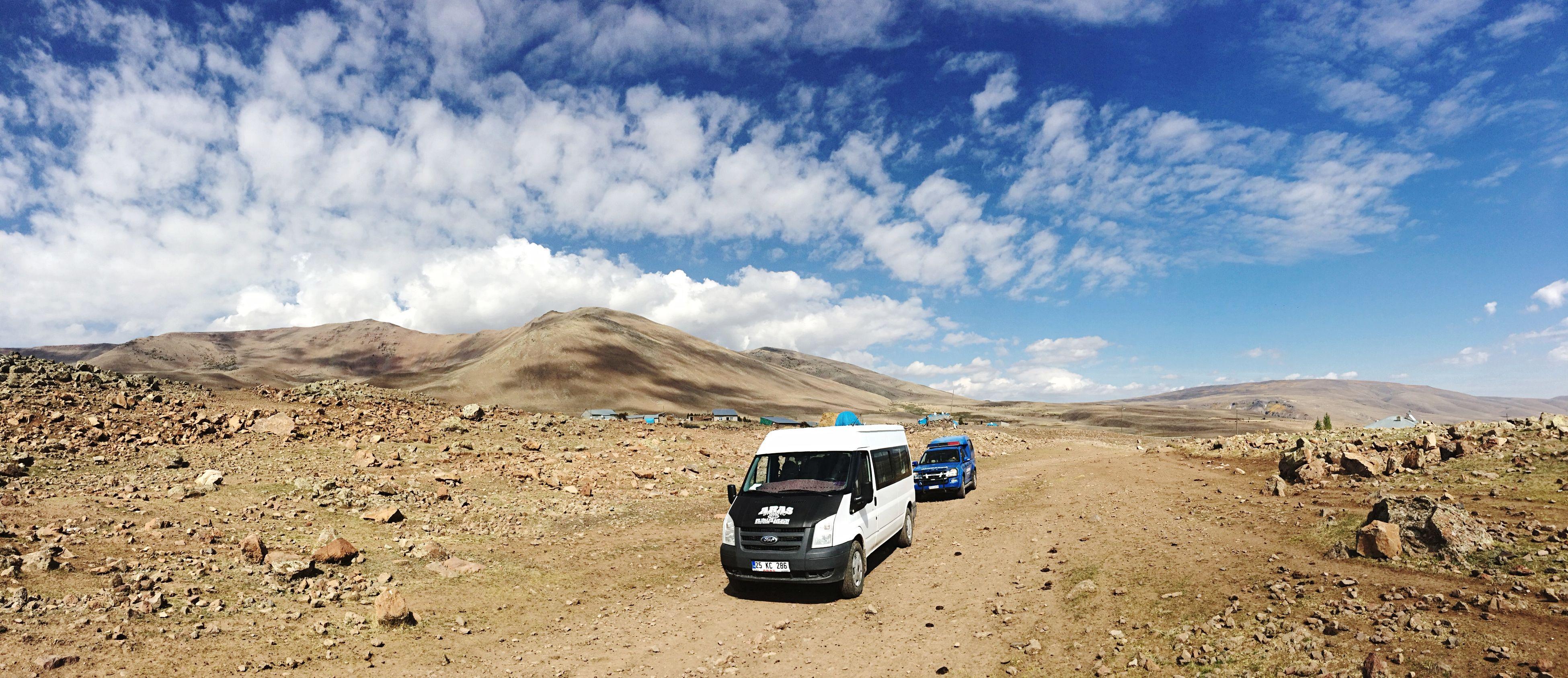 Erzurum Hasandede Mountains Nature Keşif Zamanı