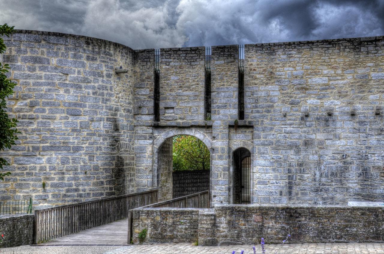 Architecture Breizh Bretagne Historic Ramparts Vannes