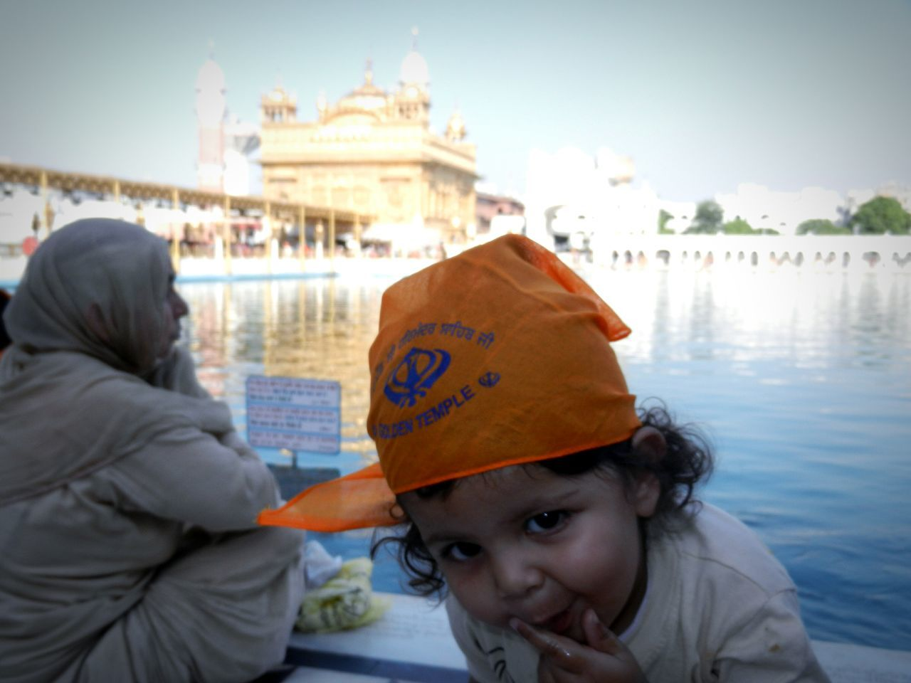 Two People Travel Destinations Love Outdoors Males  People Cultures Adult Young Adult Warm Clothing Cold Temperature Togetherness Men Close-up Adults Only Day Golden Temple Amritsar India