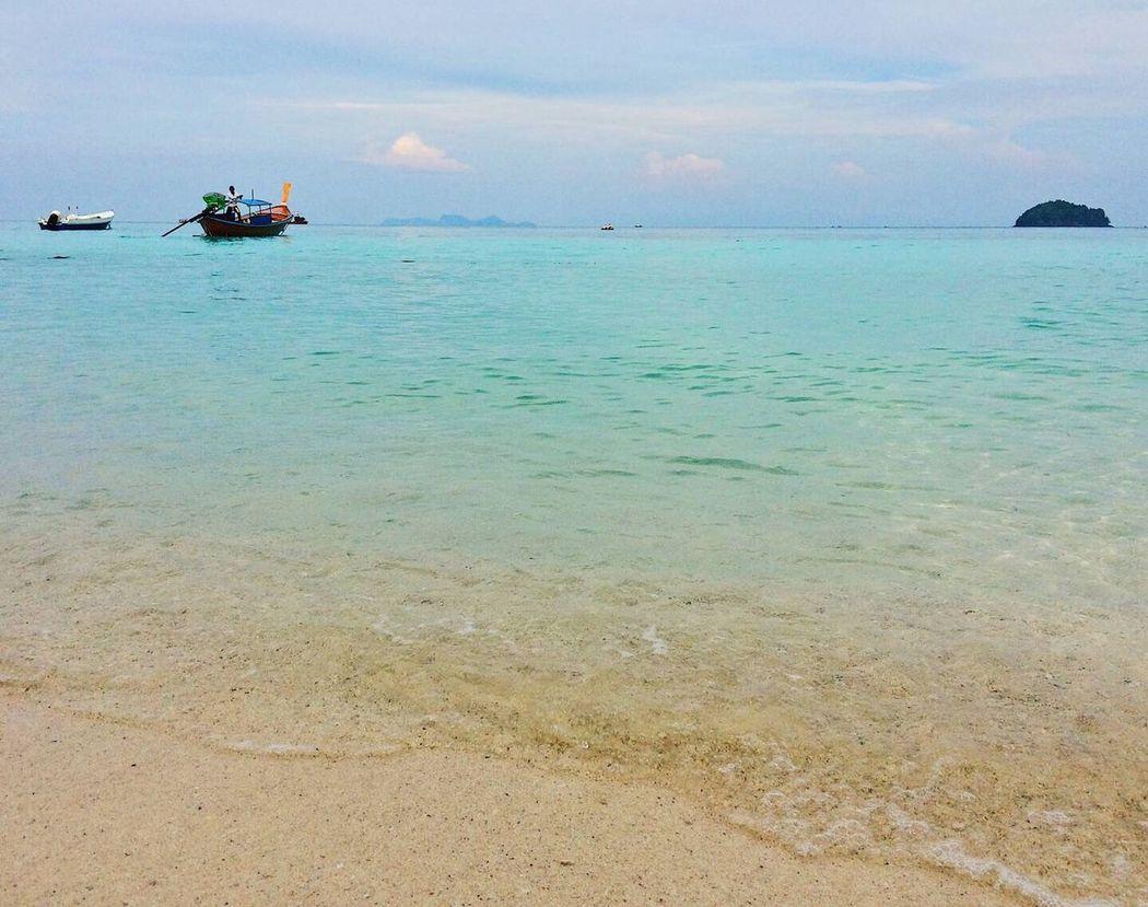 Koh Lipe Koh Lipe Thailand Beach Beachphotography Thailand Thailandtravel Sea Sky And Sea Island Photo By Iphone5s