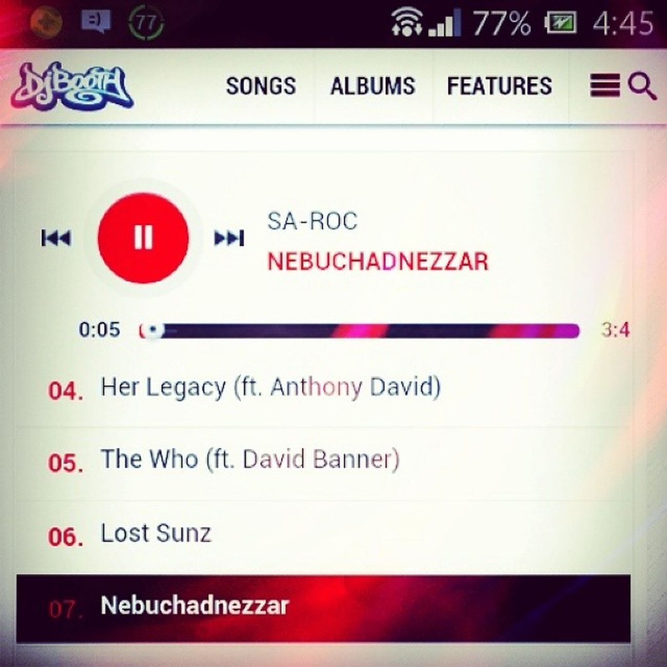 Sa-Roc NEBUCHADNEZZAR album RAAW Salute ?✌?