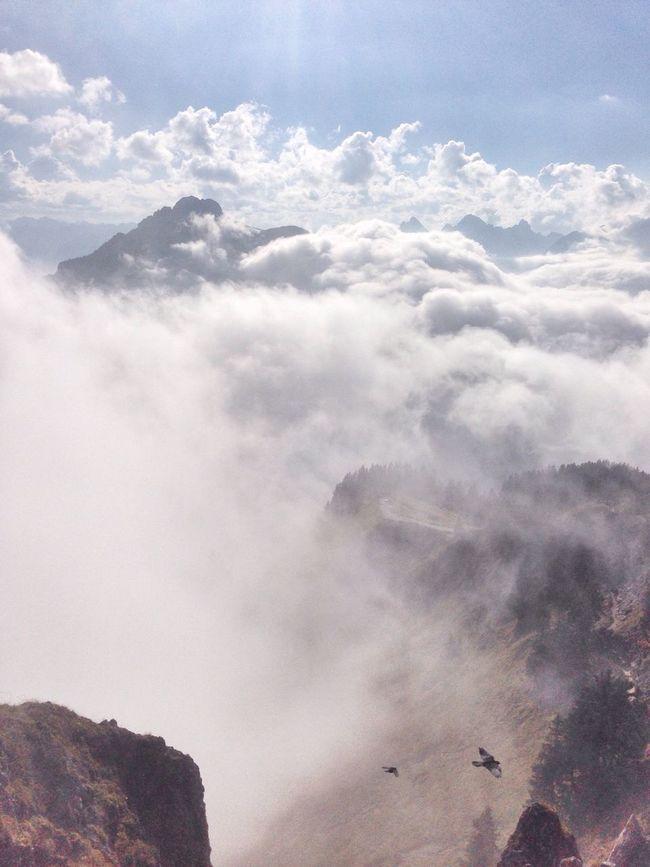 Melancholic Landscapes Freedom Hiking Mountains