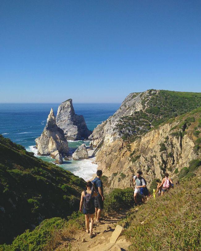 A Natural Connection Praia Da Ursa Sintra Beach Photography Hikers
