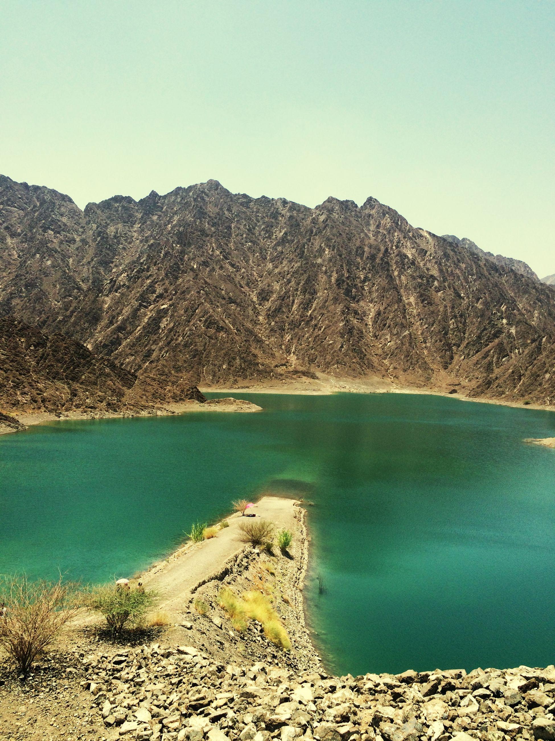 Hatta Dubai DXB Dubai Dubaiphoto Lake Lake View Mydubai Mountain View Enjoying The Sun Mountains