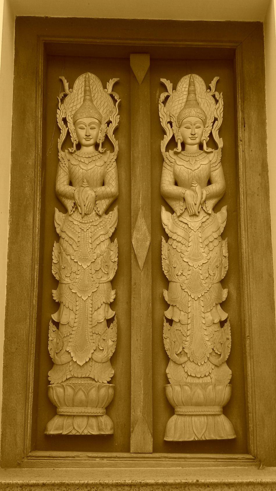 Crafts, Wood, Sculpture, Angels, Door of Vihan, Beautiful Image of Creative Crafts, Getting In Spired. .