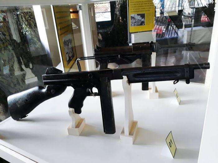 M1A1 Thompson and M3A1 Grease gun by Marcele Civil War Submachine Gun