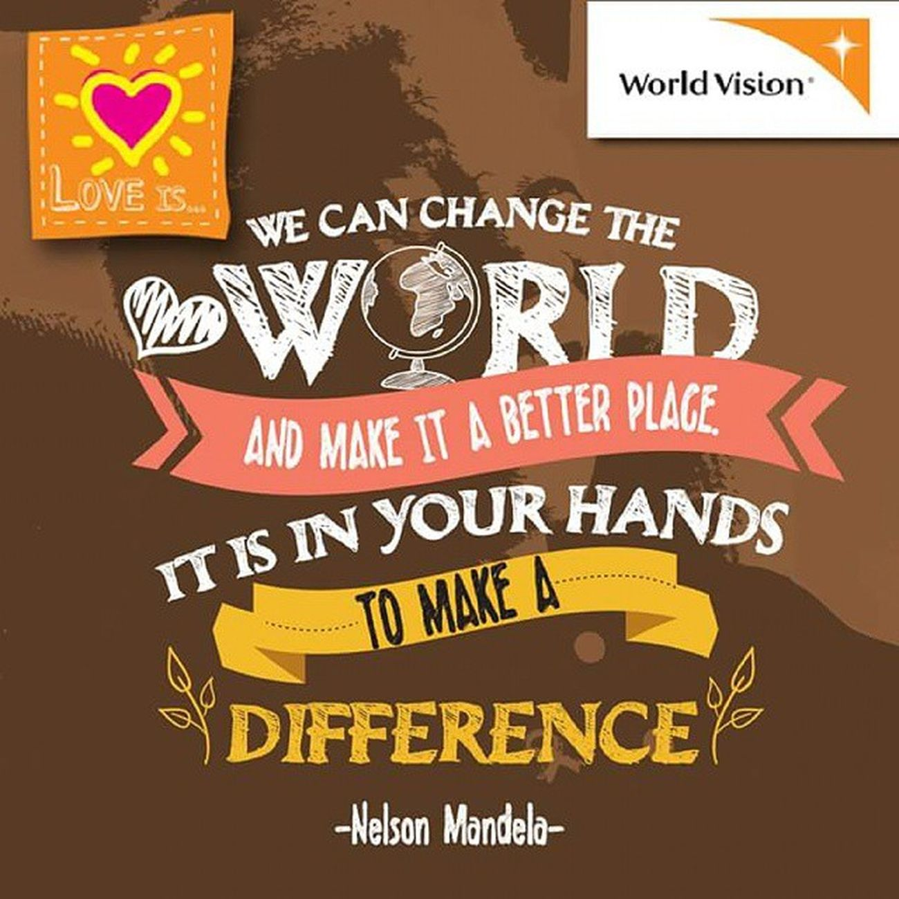 We can change the world and make it a better place... It is in your hands to make a DIFFERENCE! Join us and help more people!😊😊 Changbeginswithyou 改變從你出發 Hungerforchange 營造希望童夢成真 worldvisionmalaysia worldvision volunteering asian joyful makeitdifference changetheworld makeitperfect nomorehunger