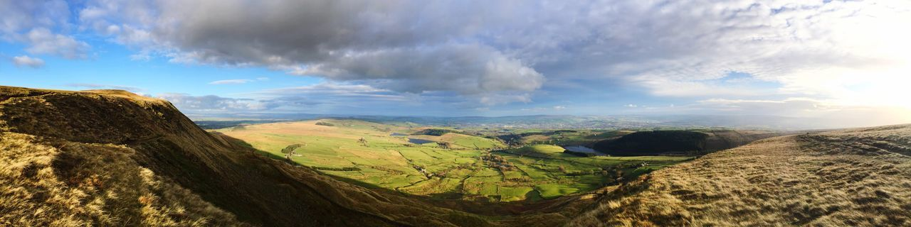 EyeEm Selects Pendle panorama Landscape Beauty In Nature Scenics Outdoors Tranquility No People Pendle Hill Pendle