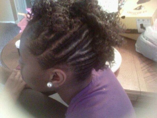 Side twists & curls