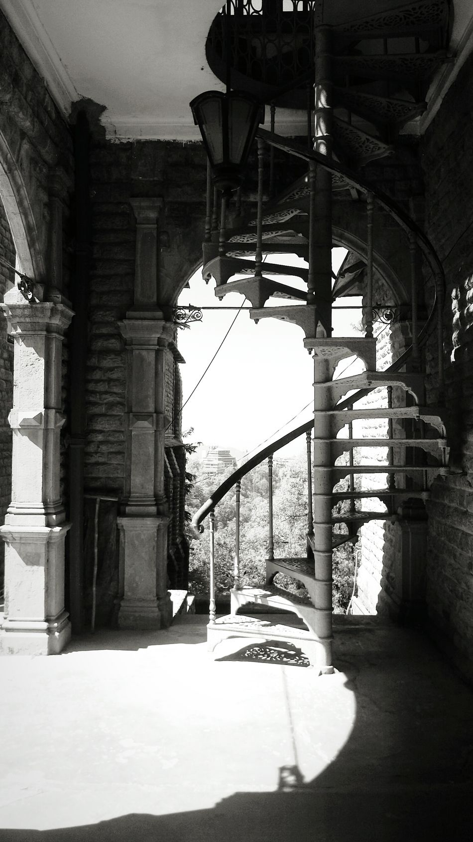 Architecture Arch Gate Built Structure No People Black And White Black And White Photography B/w Nature Historical Site Historical Buildings Historic Site Palaces Palace History Place History Architectural Column Architecture Staircases Stairsandsteps Stairs_steps Stairs Stair Staircase Travel Destinations Day