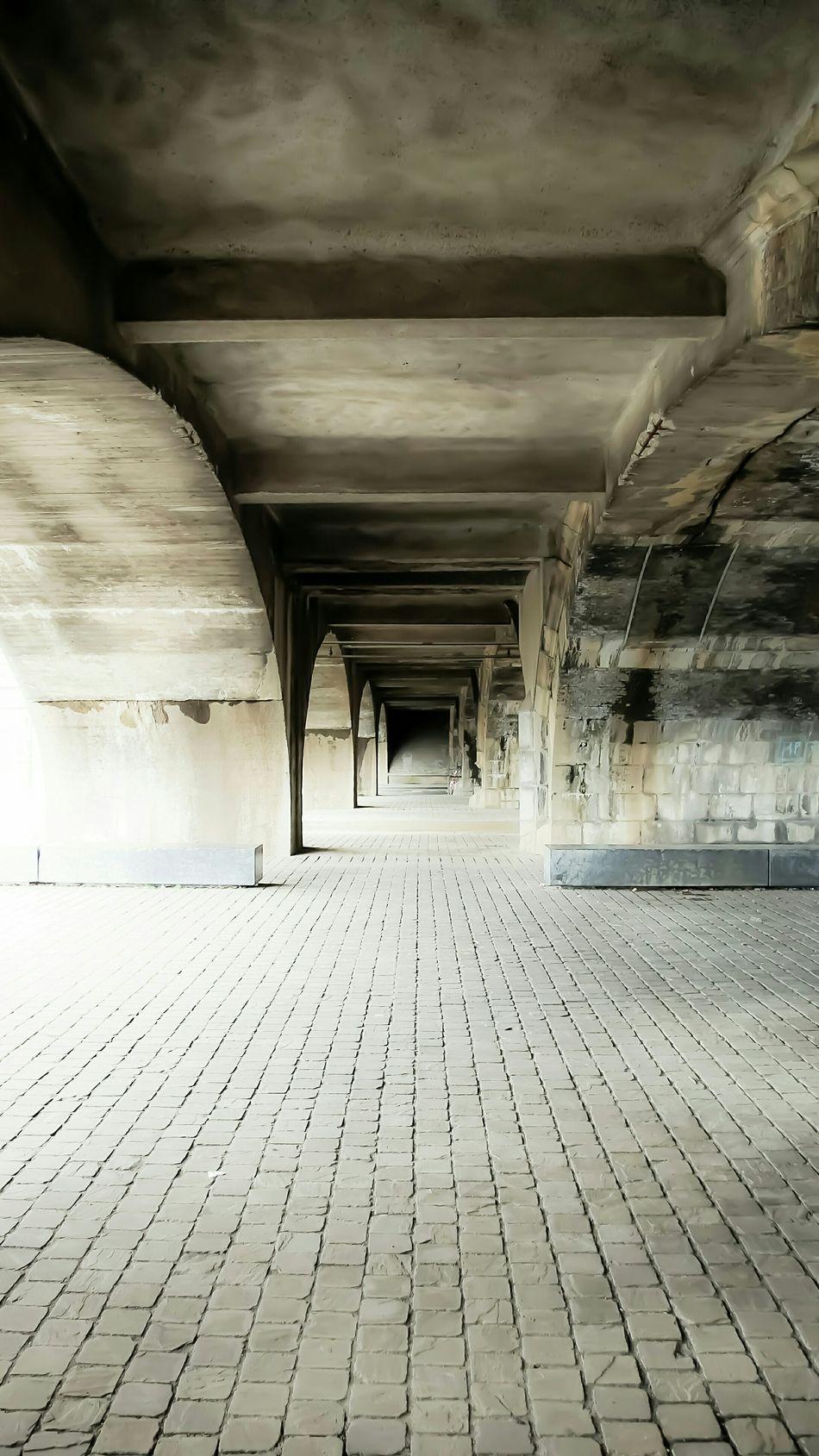 Under a Railway Viaduct in the neighborhood Zurenborg. Urban Geometry NEM Architecture Light And Shadow
