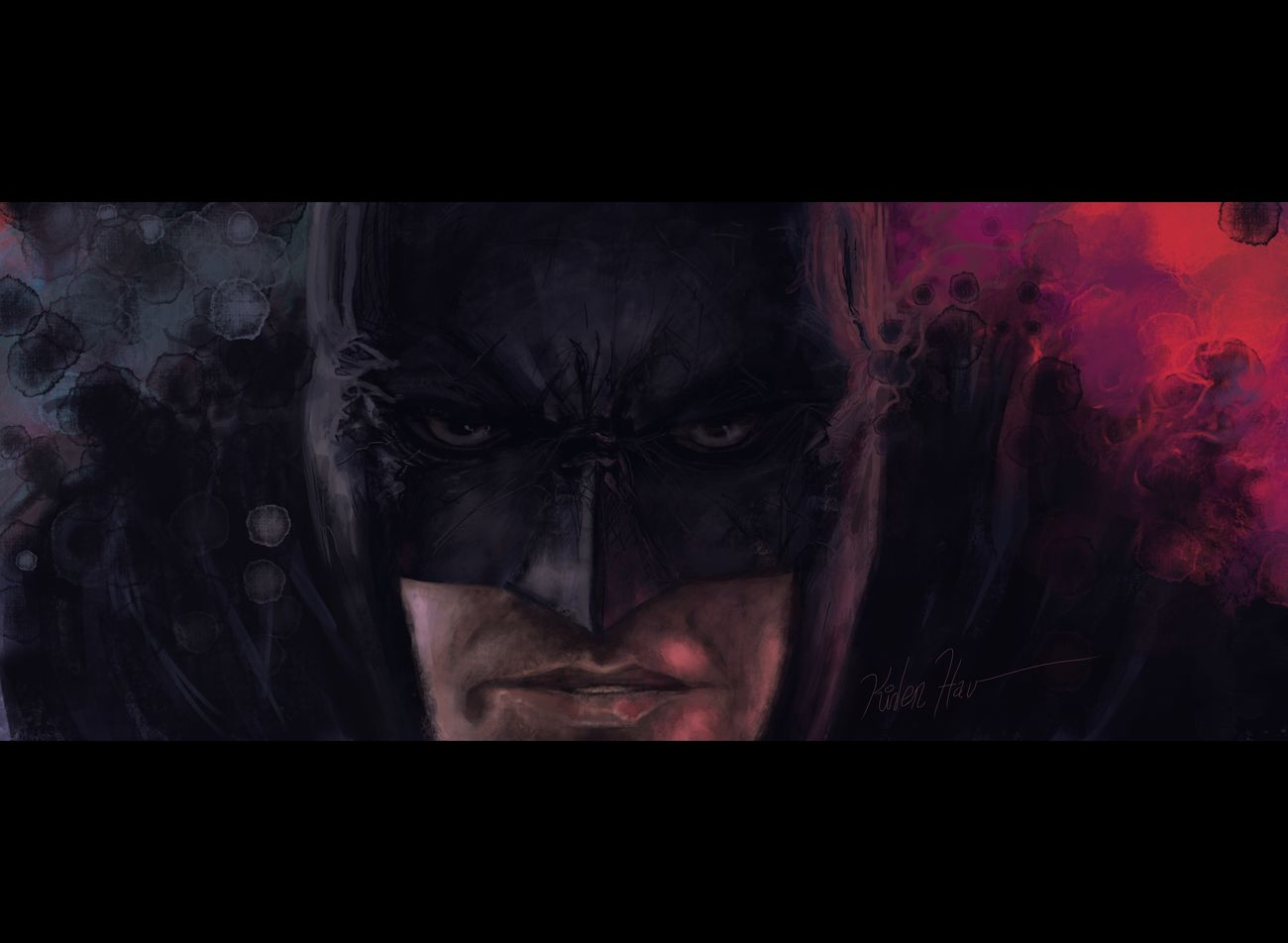 The dark knight Thedarkknight Batman Drawing Drawings Sketch Dccomics Ipadpro Ipadart Procreate ProCreate App ProCreate Painting