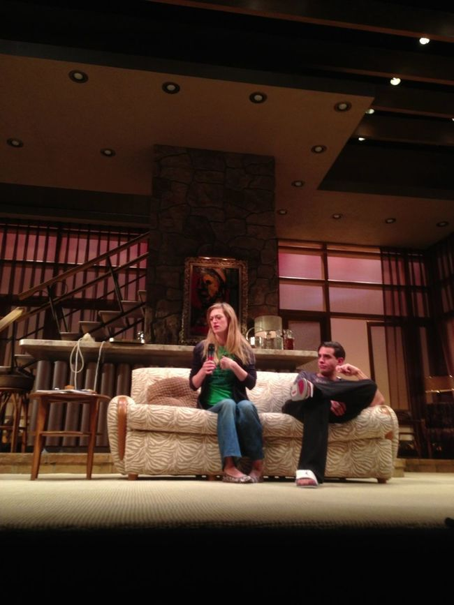 Talkback With Marin Ireland And Bobby Cannavale (The Big Knife)