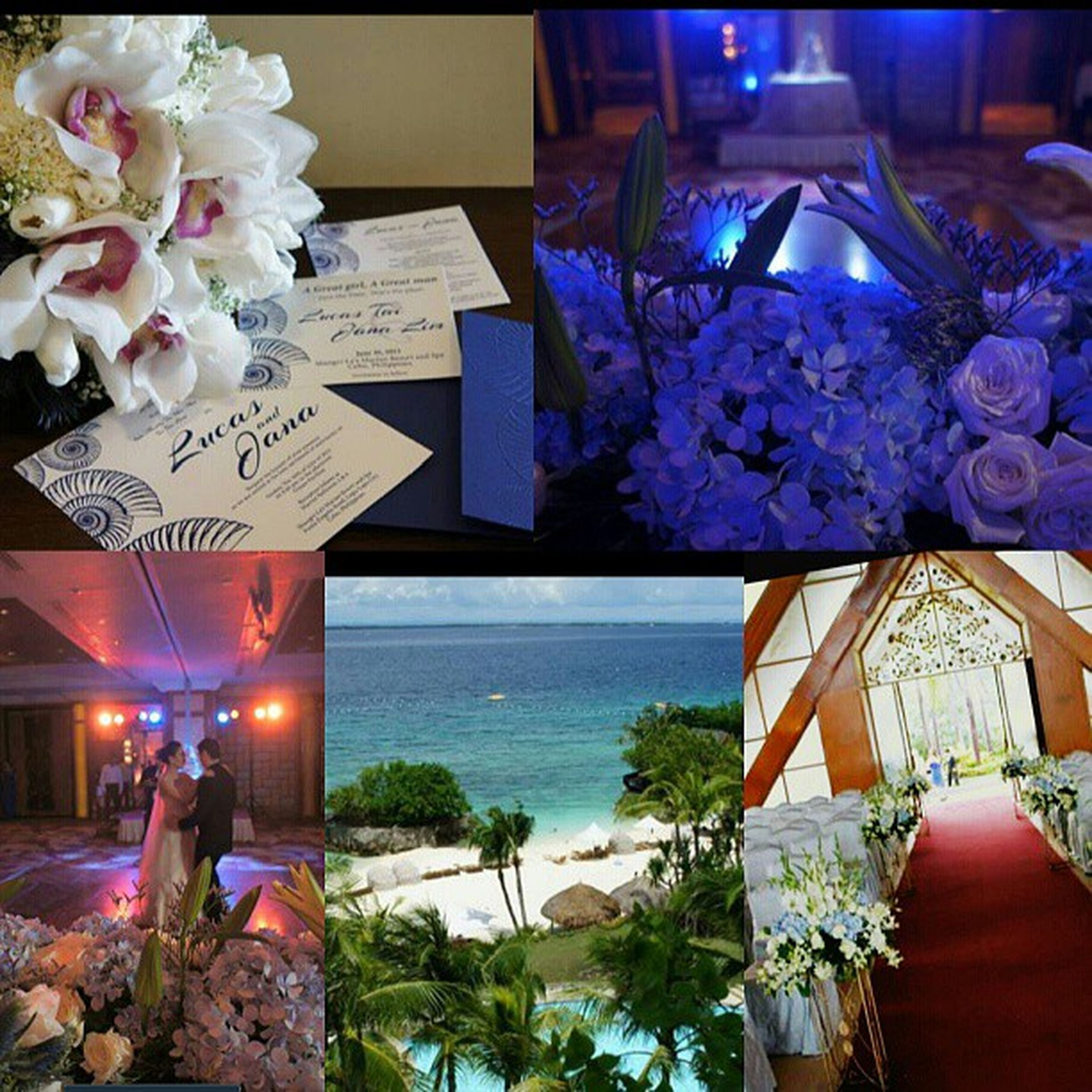 Bits and pieces of my very special day. Can't wait for the real photos to come :) Weddingday  Janalucasinmac Shangrilamactan Lovingthemoment