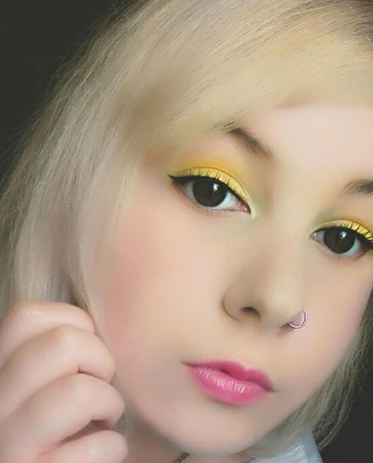 Me ThatsMe Selfie ✌ Selfies Self Portrait Selfie Portrait Portrait Likeforlike Portraits Selfietime Blonde Hair Short Hair Eyes Lips Lipstick Makeup Girl Woman Piercing Alternativegirl Blonde One Person Plugs Picoftheday Photooftheday