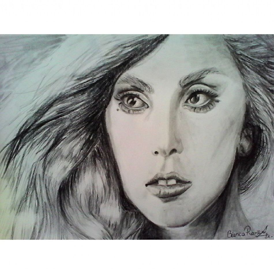 My new drawing with Gaga ☺ Gaga Monster4life Art Fanart TF Tfm Btw AP C2C L4l F4F Queen