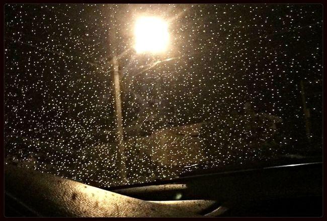 Rain Lluvia desde el coche
