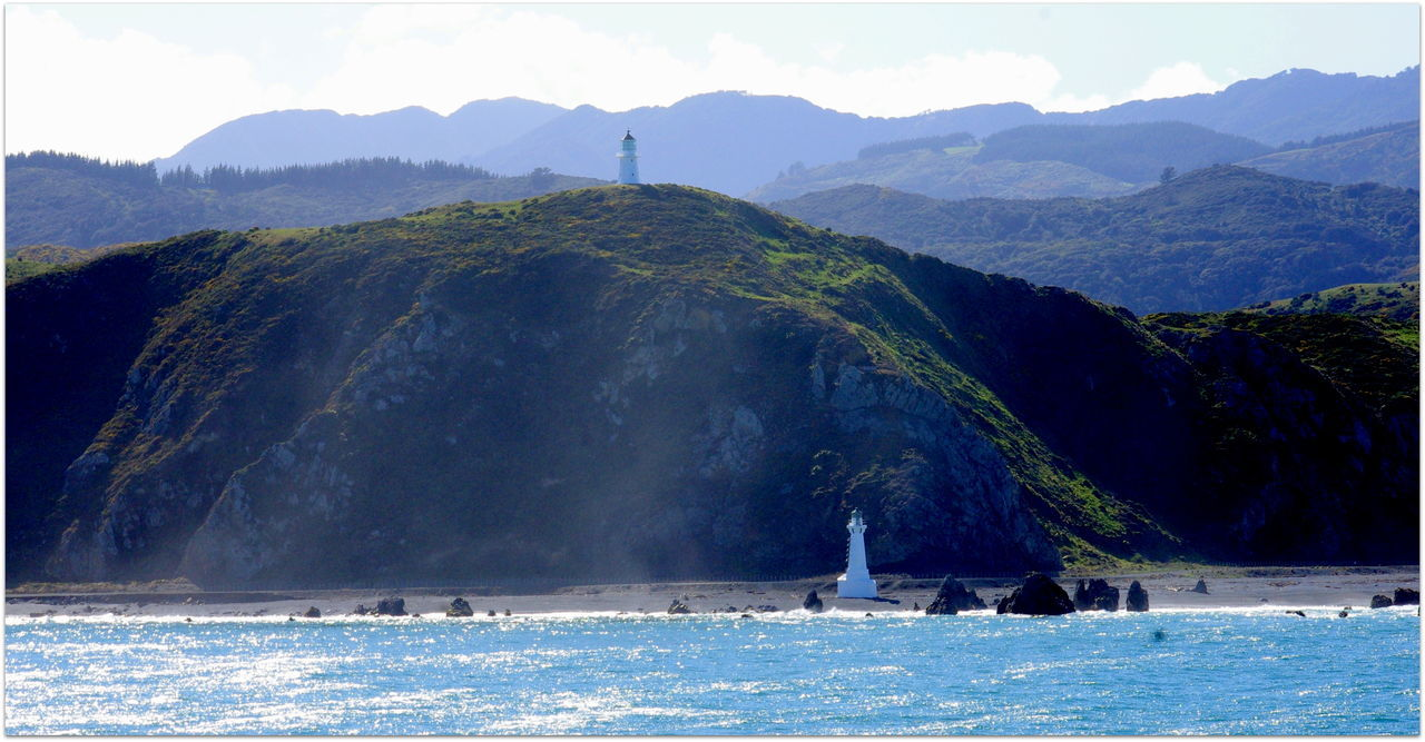 Beauty In Nature Clear Sky Crossing Ferry Interislander Mountain Nelson Newzealand Outdoors Scenic Landscapes Ship Tranquil Scene Tranquility Transportation Travel Destinations Travel Photography Water Wellington
