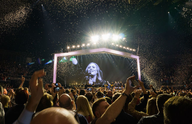 What an amazing concert that was!! <3 Adele so much! :-) Adele Concert Concert Photography Live Music Music Brings Us Together O2 Arena Sony A6000 Tour