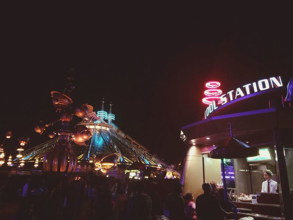 Disneyland Spacemountain Mylove