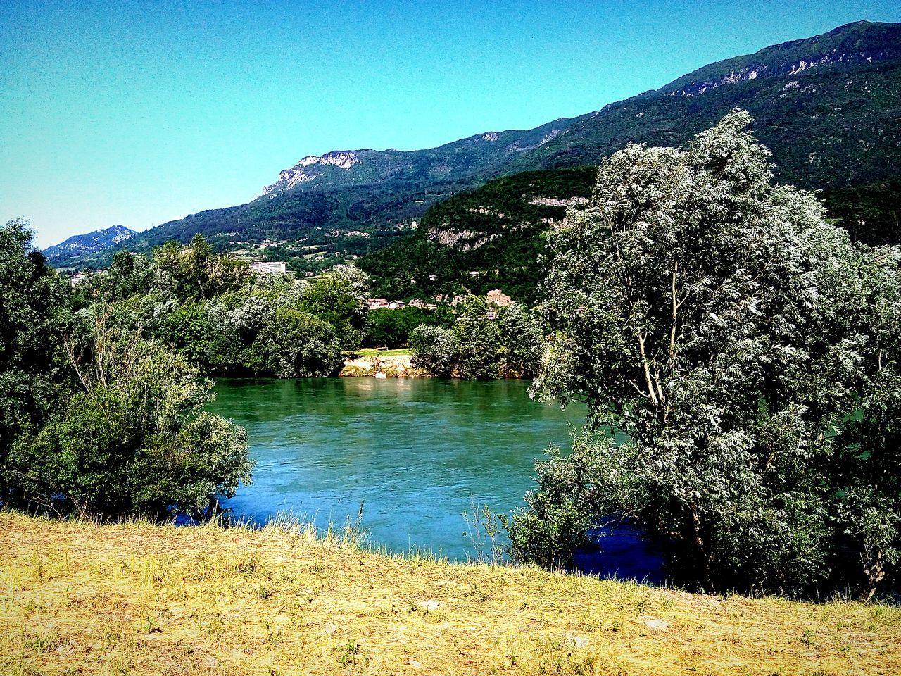 Beautiful Colors Like Blue Ciclismo Bike Sun Day Afternoon