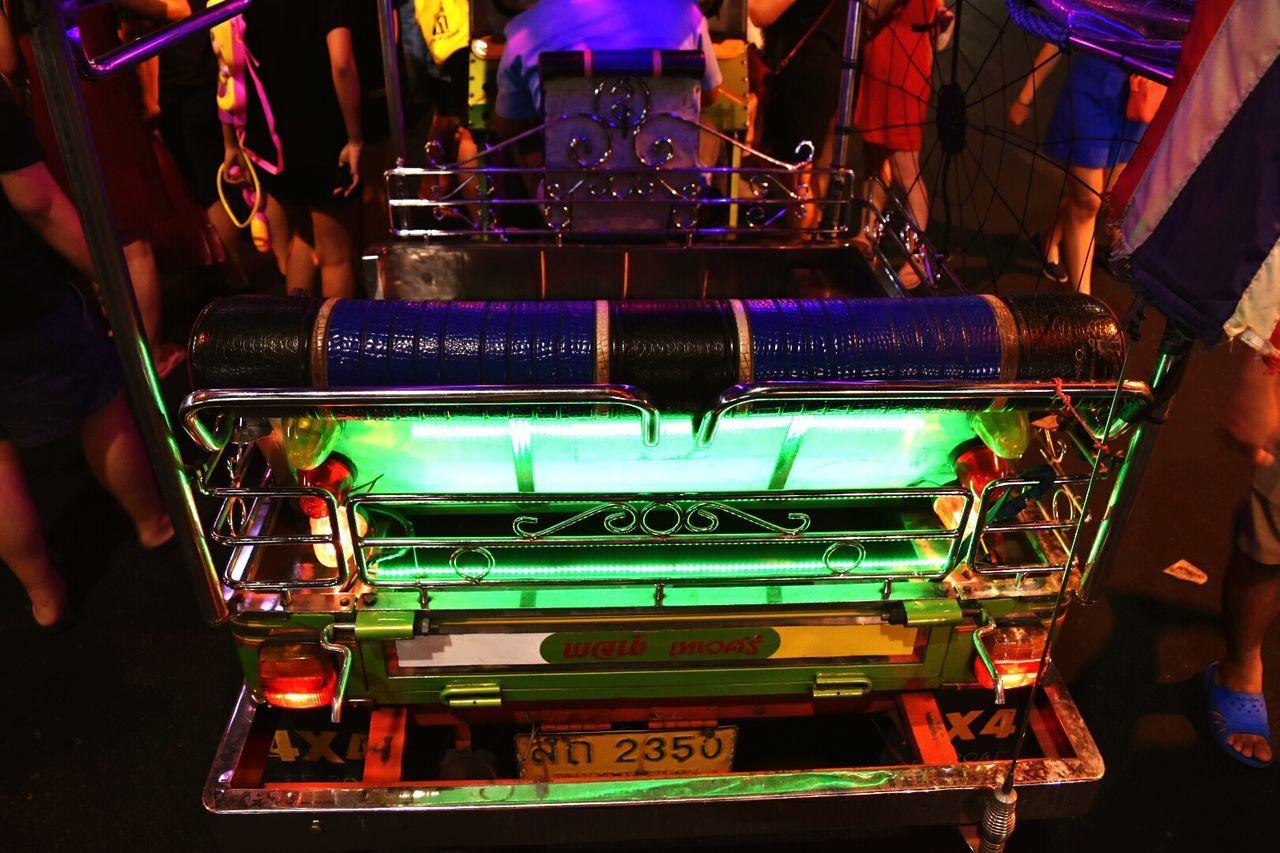 Neon tuk tuk Tuk Tuk In Bangkok Chinatown Bangkok Urban
