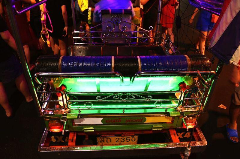 Neon tuk tuk Tuk Tuk In Bangkok Chinatown Bangkok Urban Mobility In Mega Cities