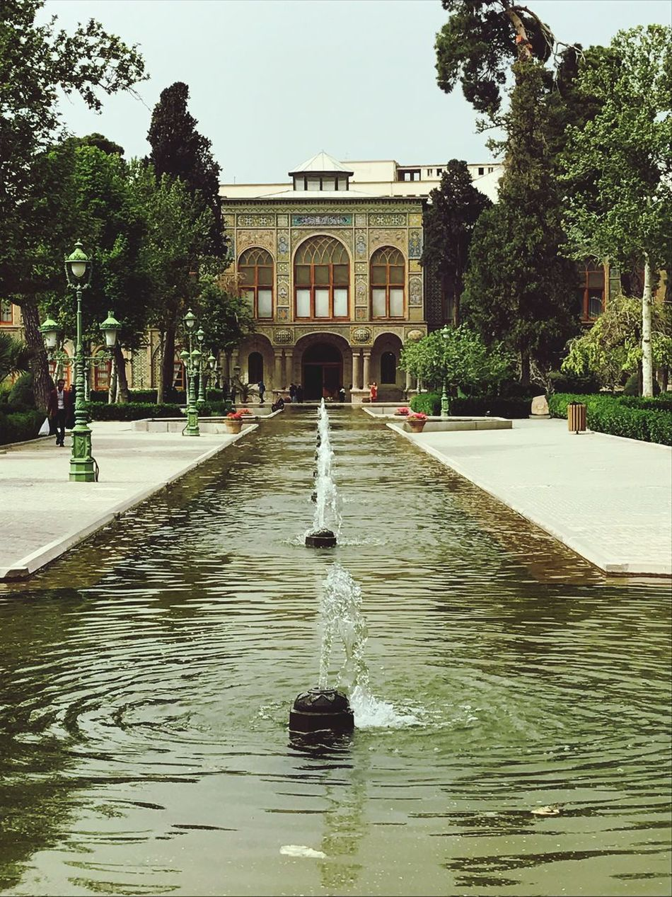 Golestan palace Golestan Palace Color Tehran, Iran Iran Architecture History Fountain