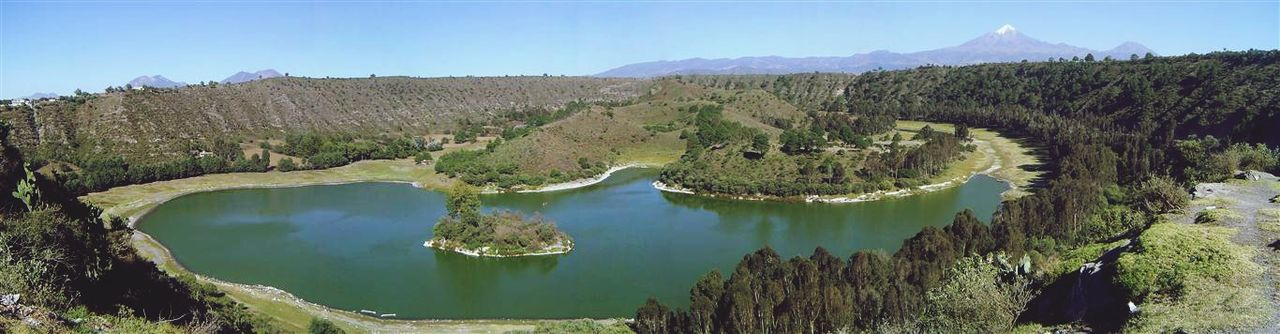 Laguna de San Miguel Tecuitlapa, Puebla. Lagos Xalapasco Laguna Lake Lagoon Green Panoramic Panoramic Photography Panorámica Mirrorless