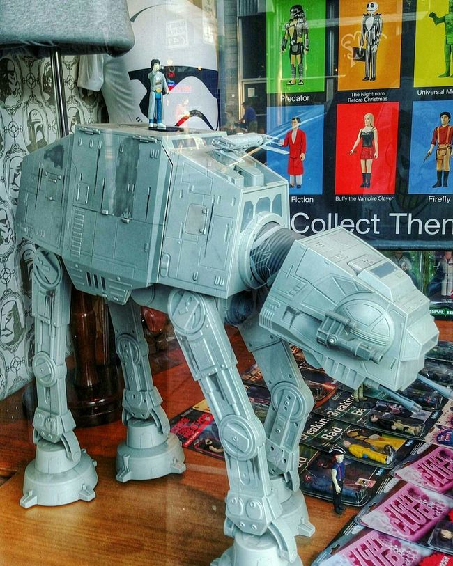 Hanging Out Taking Photos That's Me Hello World Relaxing Enjoying Life Photograph Everything Check This Out Star Wars ATAT At At Window Shopping