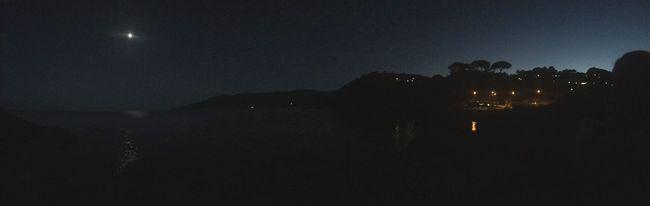 Moonlight Nightphotography Ocean