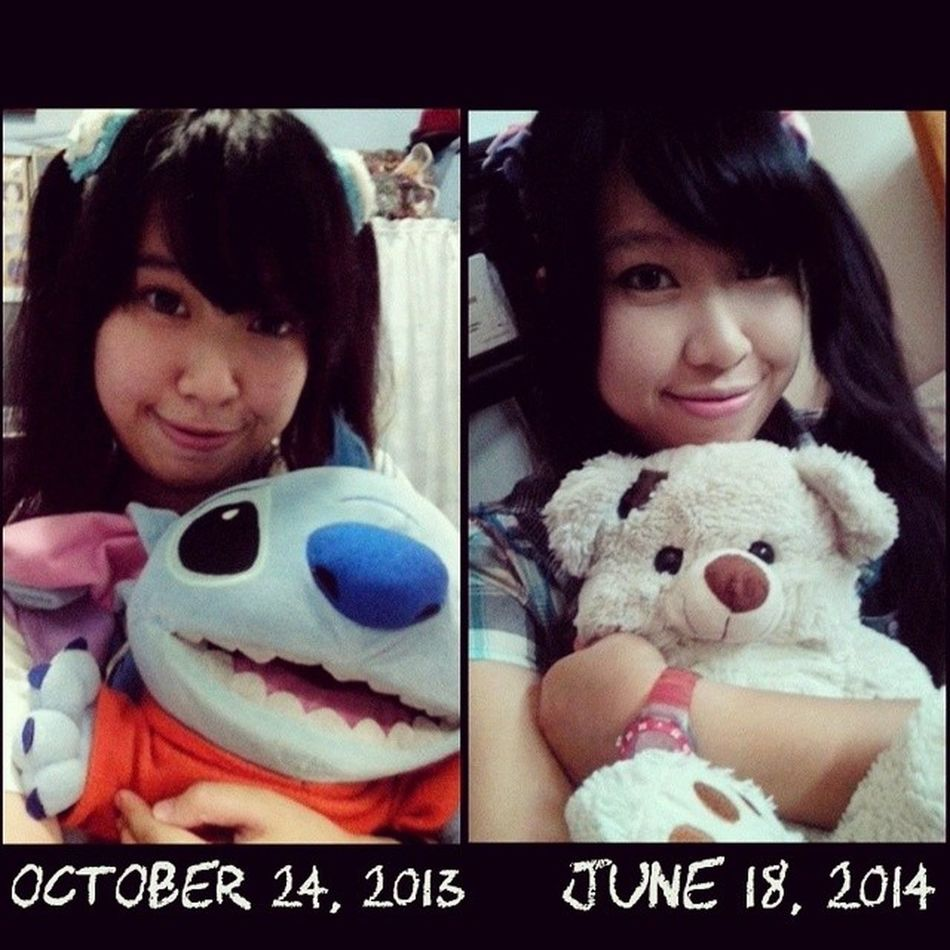 I actually have no idea what happened... But all I know is that my cheeks were fatter last year ??? Ahahahah what happened??? ????? I have to admit. I loved me cheeks before ??? But then I guess this is what I get for studying and stress~ ?? Stress Compare Contrast Fatcheeks smile desu fat Iwasfat iamstillfat fats
