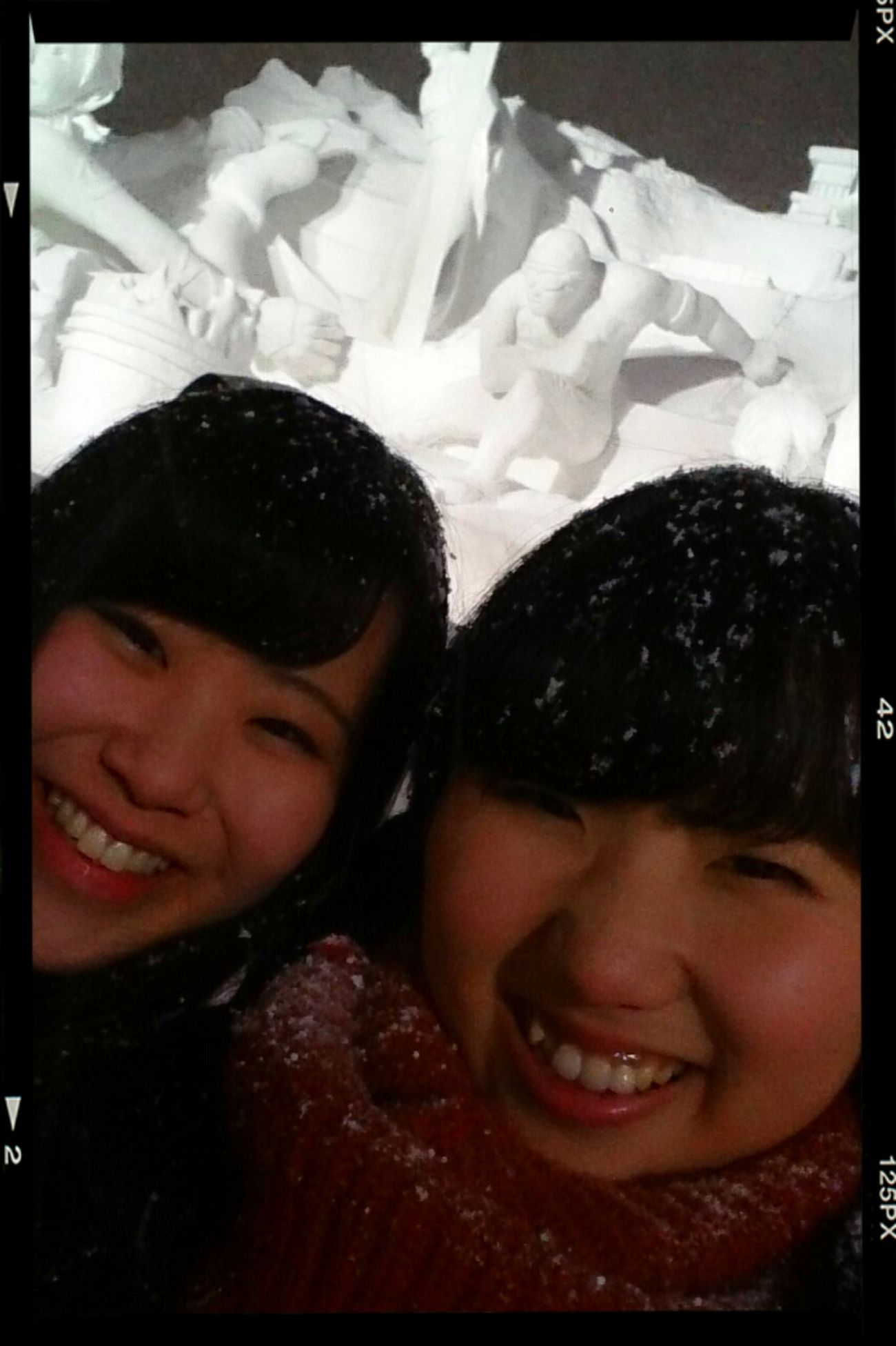 Sapporo snow festival. Today was so cold.Fabulous. Sapporo Snowfestival Japanese  That's Me